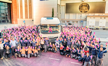 Iveco se une a la lucha contra el cáncer de mama
