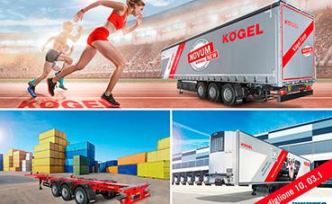 Kögel participa en la Transpotec Logitec 2019