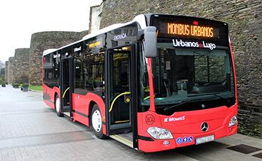 Urbanos de Lugo presenta sus dos nuevos vehículos Citaro K