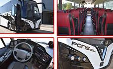 Autocares Pons adquiere dos Touring HDH de Nogebus