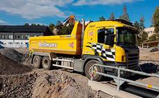 Impulso en Suecia de los camiones con cajas de cambios Allison