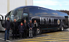 Sunsundegui entrega un SC7 a Autobuses Ifach
