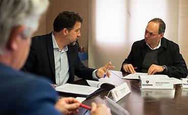Scania renueva el proyecto 'Un Scania, un árbol' en Rivas-Vaciamadrid