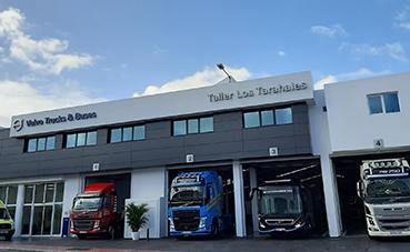 Taller Los Tarahales: nuevo servicio Volvo en Gran Canaria