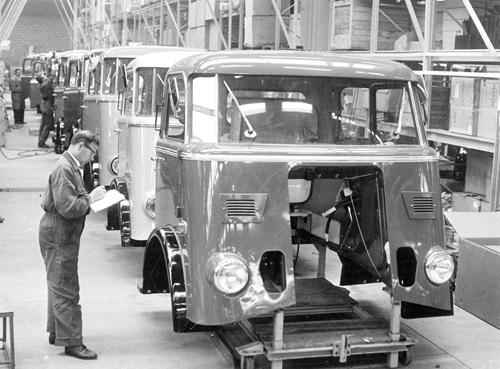 Se celebran los 50 años de producción DAF en Bélgica