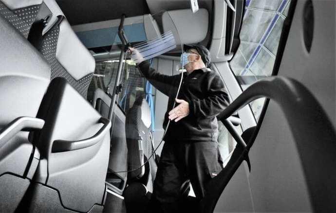 5.000 autobuses equipados con filtros activos y puertas protectoras