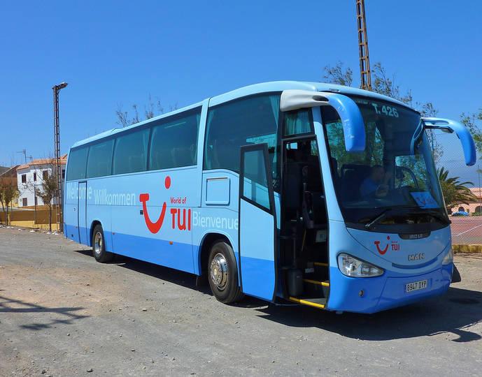Un autocar de TUI.