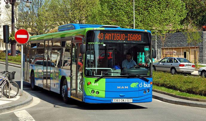 Nuevo reglamento del Transporte para San Sebastián