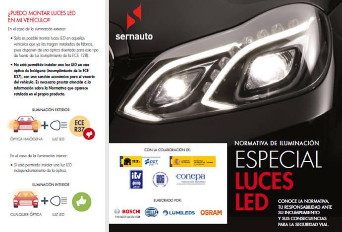 Campaña para informar sobre el valor de luces LED homologadas