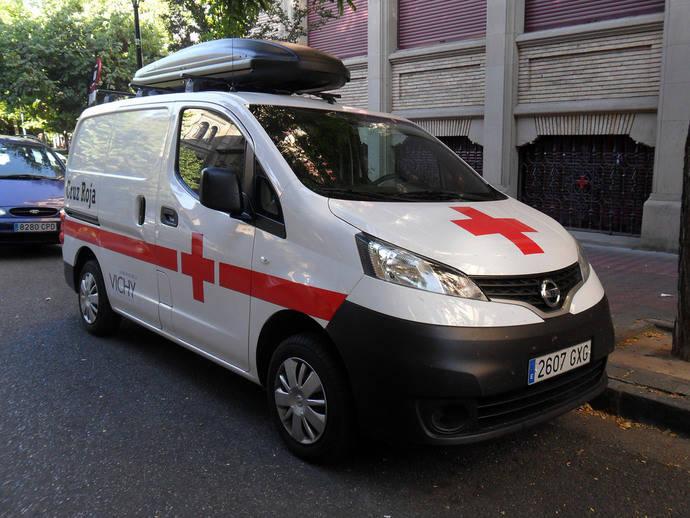 Nissan cede a Cruz Roja de Madrid una furgoneta e-NV200 Evalia