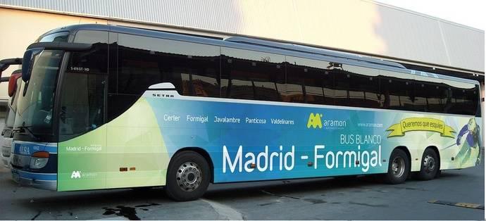 Comienza una nueva temporada del Bus Blanco Madrid-Formigal-Panticosa
