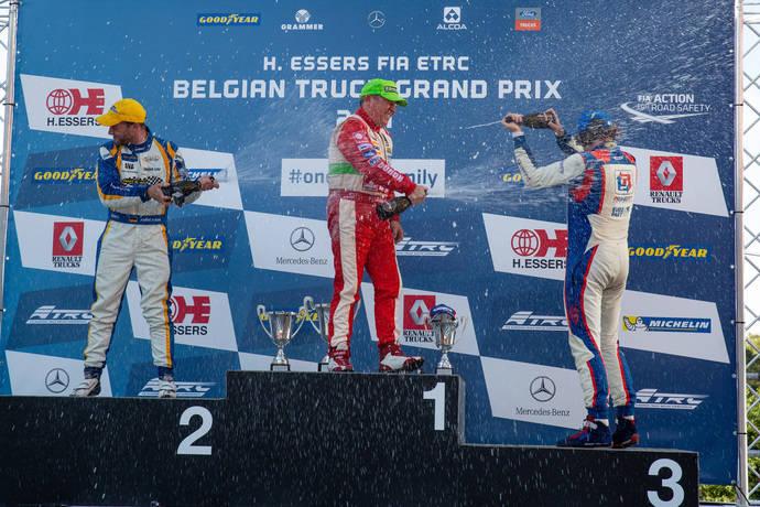 Antonio Albacete consigue su segunda victoria del año, en el GP de Bélgica
