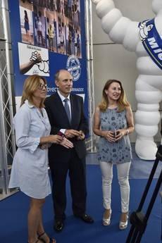 Michelin muestra su compromiso con Aranda y La Ribera