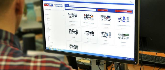 Paccar Parts presenta su nuevo catálogo online de recambios TRP