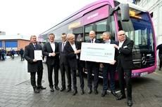 Wiesbaden adquiere sus primeros Mercedes eCitaro