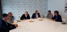 Firma del acuerdo de cooperación de Tusgsal con Tecnocampus.