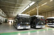 Autobuses eléctricos Ebusco.