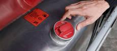 Alarma de robo de combustible Scania.