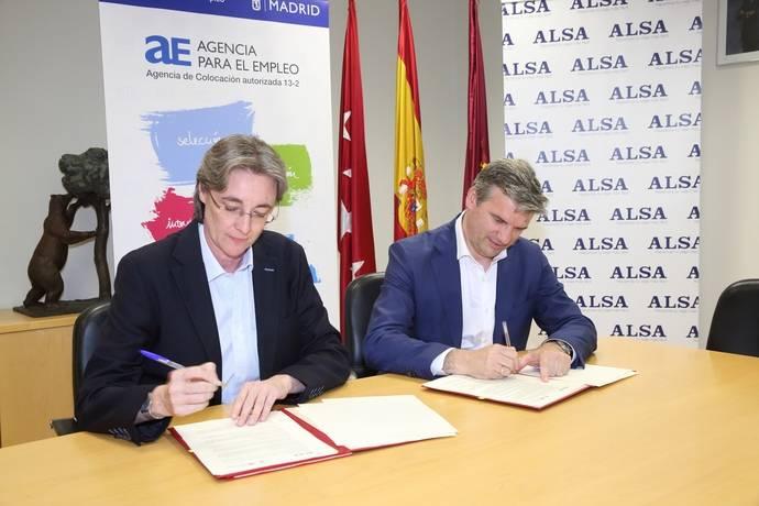 Madrid y Alsa por la formación de desempleados