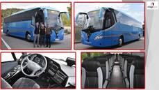 Touring HD-13.200m sobre bastidor Mercedes para Romà Bus.