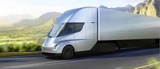 Semi e-truck de Tesla.