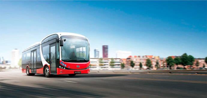 13 midibuses eléctricos BYD para el Piamonte italiano