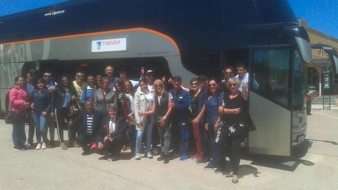 Primer viaje del 'autocar por la igualdad' de Vipcar