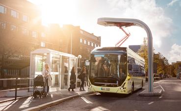23 buses eléctricos Volvo para los Países Bajos