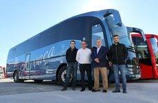Este autobús está preparado para el transporte de personas con movilidad reducida.