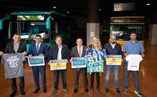 Guaguas Municipales se suma a la celebración de la San Silvestre