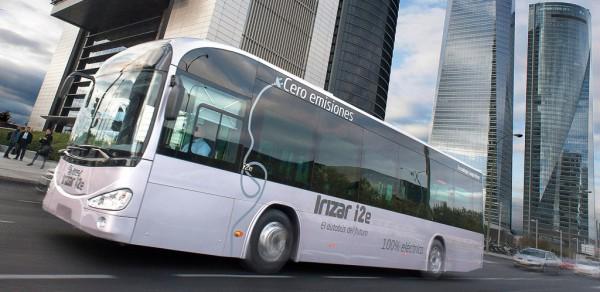 Madrid y Barcelona tendrán autobuses eléctricos Irizar