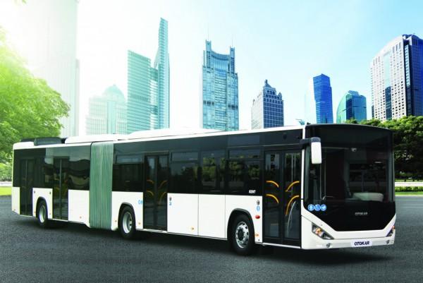 Esmirna contará con 100 autobuses articulados OTOKAR