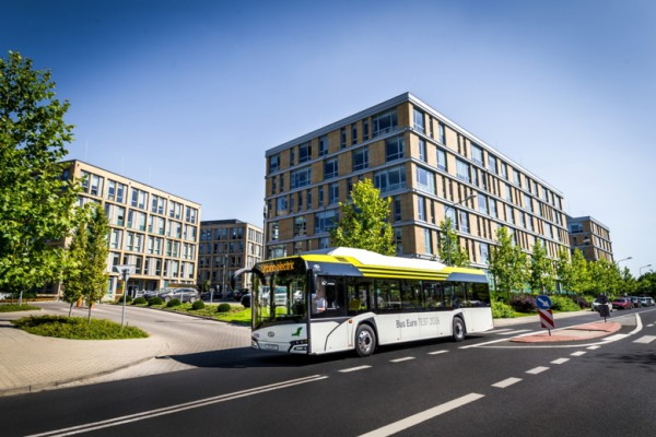 Berlín ordena 15 autobuses eléctricos Solaris, de Urbino