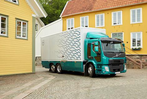 Motor más potente amplía el uso de la gama Volvo FE