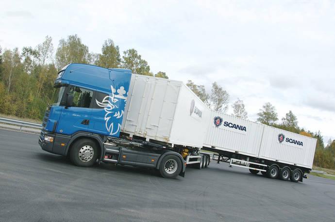 Scania, lista para dar experiencia con los vehículos de 60 toneladas