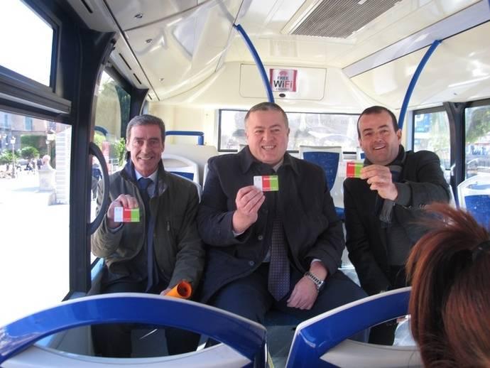 Implantación del Bono Único Regional de Murcia con una primera fase de pruebas