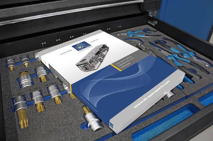 Nuevo catálogo DT Spare Parts adecuados para Volvo Bus
