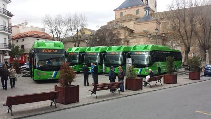 Arganda del Rey incorpora autobuses de gas a las líneas del municipio