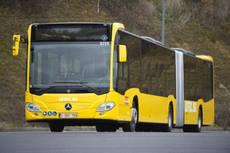 129 autobuses articulados híbridos Citaro G, para Bélgica