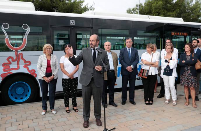 Madrid inaugura línea de urbano y modifica ocho más