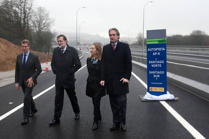 La AP-9 inaugura un nuevo tramo en el entorno de Santiago