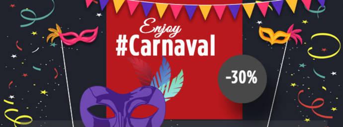 30% de descuento en Avanza para Carnaval