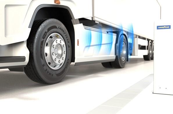 Goodyear Drivepoint: controlar la presión de neumáticos rentablemente