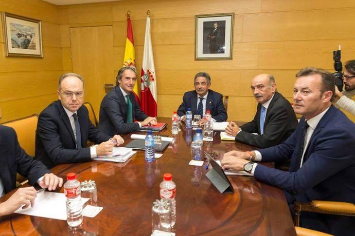 Cantabria espera recibir los 300 millones prometidos por Fomento