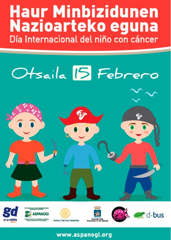 Dbus se suma al día internacional del niño/a con cáncer