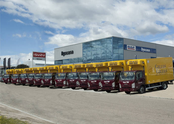 El Grupo VMR adquiere 12 P75 de Isuzu
