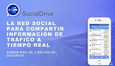 Cartel promocional de SocialDrive.