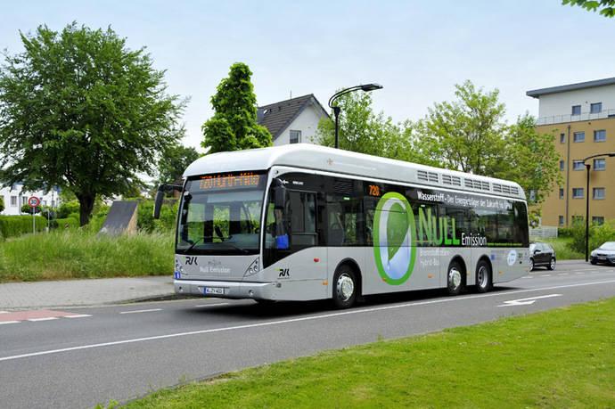 Van Hool entregará 40 híbridos de hidrógeno en Alemania