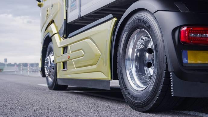 Goodyear lanza sus nuevos neumáticos para camión: Fuelmax Endurance