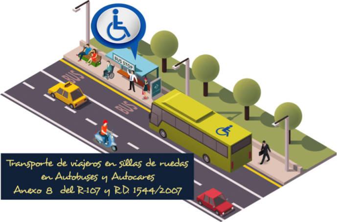 Transporte de viajeros con movilidad reducida en autobuses
